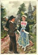 HOMUALK ILLUSTRATEUR  EN PARCOURANT LA BRETAGNE CHATEAULIN EDIT. GABY NON ECRITE - Homualk