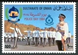 1984 Oman Police Day Set MNH** Ul15 - Oman