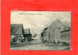 BEVILLE LE COMTE / ARDT  CHARTRES  1910   LE LUET RUE PRINCIPALE METIER EPICIER AMBULANT    EDIT CIRC OUI - France