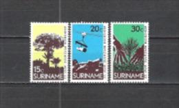 Suriname 1972 Wirtschaft Forstwirtschaft Holzgewinnung Wald W�lder Forrest Holz Wood Aufforstung Urwald, Mi. 643-5 **