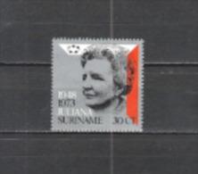 Suriname 1973 Geschichte Persönlichkeiten Royals Herrscher Queen Regierungsjubiläum Königin Juliana, Mi. 654 ** - Suriname
