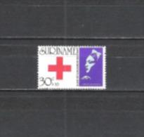 Suriname 1973 Organisationen Rotes Kreuz Medizin Red Cross Krankenschwestern Florence Nightingale, Mi. 655 ** - Suriname
