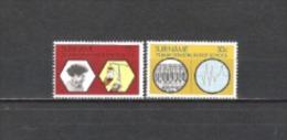 Suriname 1974 Bildung Ausbildung Schulen Medizin Heilkunde Krankenschwestern Ern�hrung Sonde Gewebe, Mi. 671-2 **