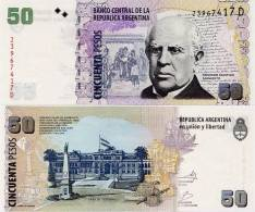 ARGENTINA    50 Pesos    P-356    ND (2002)    UNC  [sign. Marcó-Fellner] - Argentine