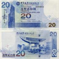 HONG KONG - BoC     20 Dollars     P-335c       1.7.2006         UNC - Hong Kong