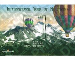 Ref. 99616 * MNH * - MALDIVES. 2002. INTERNATIONAL YEAR OF THE MOUNTAIN . A?O INTERNACIONAL DE LA MONTA?A