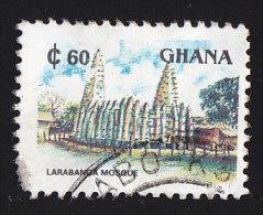 GHANA - Scott #1357B Larabanga Mosque (*) / Used Stamp - Ghana (1957-...)