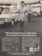 # CHAMPION SPARK PLUG 1960s Italy Advert Pub Reklame Buj�as Candele Zundkerze Bougie