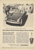 # CHAMPION SPARK PLUG 1950s Alps France Italy Advert Pub Reklame Buj�as Candele Zundkerze Bougie
