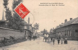 SAUSSAY LA VACHE - Grande Rue Et Rue De Puchay - France