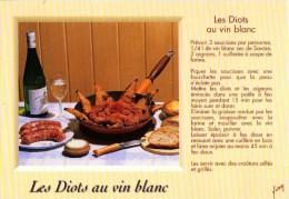Recette - Les Diots Au Vin Blanc, Couteau Opinel - 10 00 7680 - Editions YVON - TBE - Recipes (cooking)