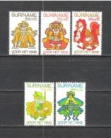 Suriname 1980 Organisationen Wohlfahrt Kinderhilfe Märchen Anansi Fairy Tails Illustrationen Kunst Kultur, Mi. 918-2 ** - Suriname