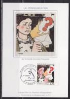 = La Communication La Bande Dessinée Française Carte Postale 16 Angoulême 29.1.88 N°2512 Œuvre De Tardi - Maximum Cards