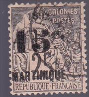 MARTINIQUE : Y&T : 30 O - Martinique (1886-1947)