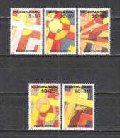 Suriname 1985 Religion Christentum Feiertage Ostern Easter Kreuze Crosses Leidensgeschichte Jesus Christi, Mi. 1125-9 ** - Suriname