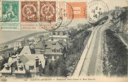 76 SAINTE ADRESSE   Boulevard Félix Faure Et Nice Havrais Affranchissement  Belge    2 Scans - Sainte Adresse