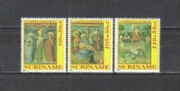 Suriname 1992 Religion Christentum Ostern Easter Leidensgeschichte Jesus Christi Kreuzigung Auferstehung, Mi. 1400-2 ** - Suriname