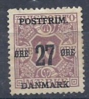140012330  DINAMARCA  YVERT  Nº  90  */MH  (NO  GUM)  BROKEN - 1913-47 (Christian X)
