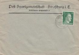 Env Affr MICHEL 795A Obl MARIENTHAL Du 18.11.44, Sans Adresse - Elsass-Lothringen