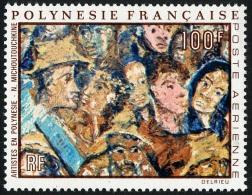 POLYNESIE 1971 - Yv. PA 59 ** Cote= 38,00 EUR - Tableau De N. Michoutouchkine ..Réf.POL22264 - Poste Aérienne
