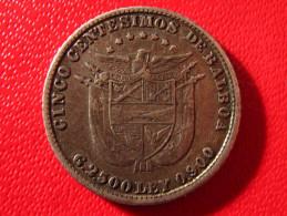 Panama - 5 Centimos De Balboa 1904 3948 - Panama