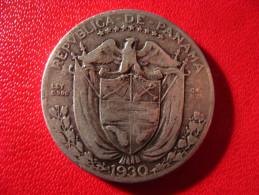 Panama - Decimo 1/4 De Balboa 1930 3950 - Panama