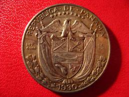 Panama - Decimo 1/4 De Balboa 1930 3952 - Panama
