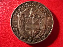 Panama - Decimo 1/4 De Balboa 1934 3944 - Panama