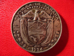 Panama - Decimo 1/4 De Balboa 1934 3960 - Panama