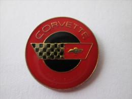 Chevrolet Corvette Pin Ansteckknopf Rot - Corvette