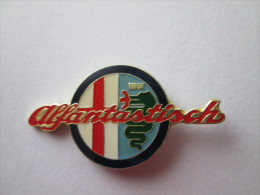 Alfa Romeo Pin Ansteckknopf Logo - Alfa Romeo
