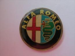 Alfa Romeo Pin Ansteckknopf Lackiert Groß - Alfa Romeo