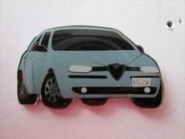 Alfa Romeo 156 Pin Ansteckknopf Hellblau - Alfa Romeo