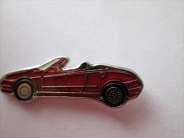 Alfa Romeo Cabrio Pin Ansteckknopf Rot - Alfa Romeo