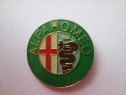 Alfa Romeo Logo Grün Pin Ansteckknopf - Alfa Romeo