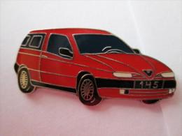 Alfa Romeo 145 Pin Ansteckknopf Rot - Alfa Romeo