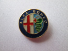 Alfa Romeo Logo Pin Ansteckknopf Emailliert - Alfa Romeo