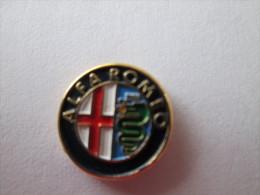 Alfa Romeo Logo Pin Ansteckknopf Gestanzt - Alfa Romeo