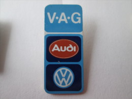 VAG Turm Audi VW Anstecknadel Groß - Volkswagen