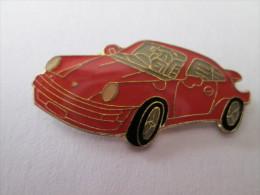 Porsche 911 Pin Ansteckknopf Rot - Porsche