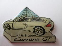 Porsche Carrera GT Pin Ansteckknopf Paris 2000 - Porsche