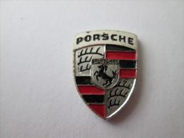 Porsche Logo Pin Ansteckknopf Gestanzt - Porsche