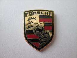 Porsche Logo Groß Pin Ansteckknopf Emailliert - Porsche