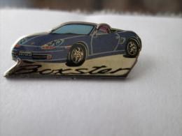 Porsche Boxster Anstecknadel Blau - Porsche