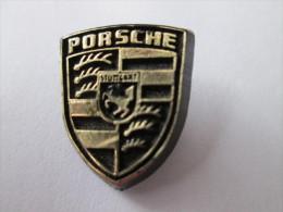 Porsche Logo Anstecknadel Schwarz - Porsche