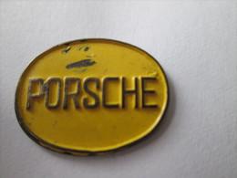 Porsche Anstecknadel Gelb - Porsche