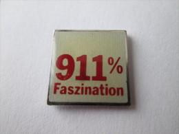 Porsche 911 % Faszination Anstecknadel Lackiert - Porsche