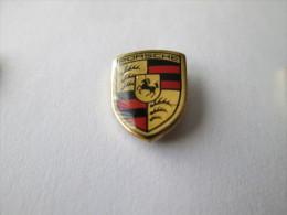 Porsche Logo Anstecknadel Lackiert - Porsche