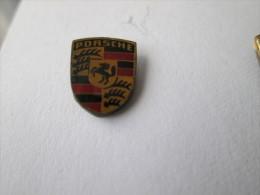 Porsche Logo Anstecknadel Dick Lackiert - Porsche