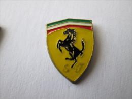 Ferrari Pin Ansteckknopf Unlackiert - Ferrari